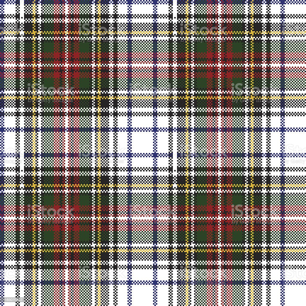 Seamless tartan background. vector art illustration