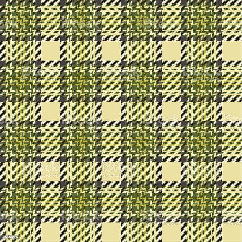 Seamless tartan pattern royalty-free stock vector art