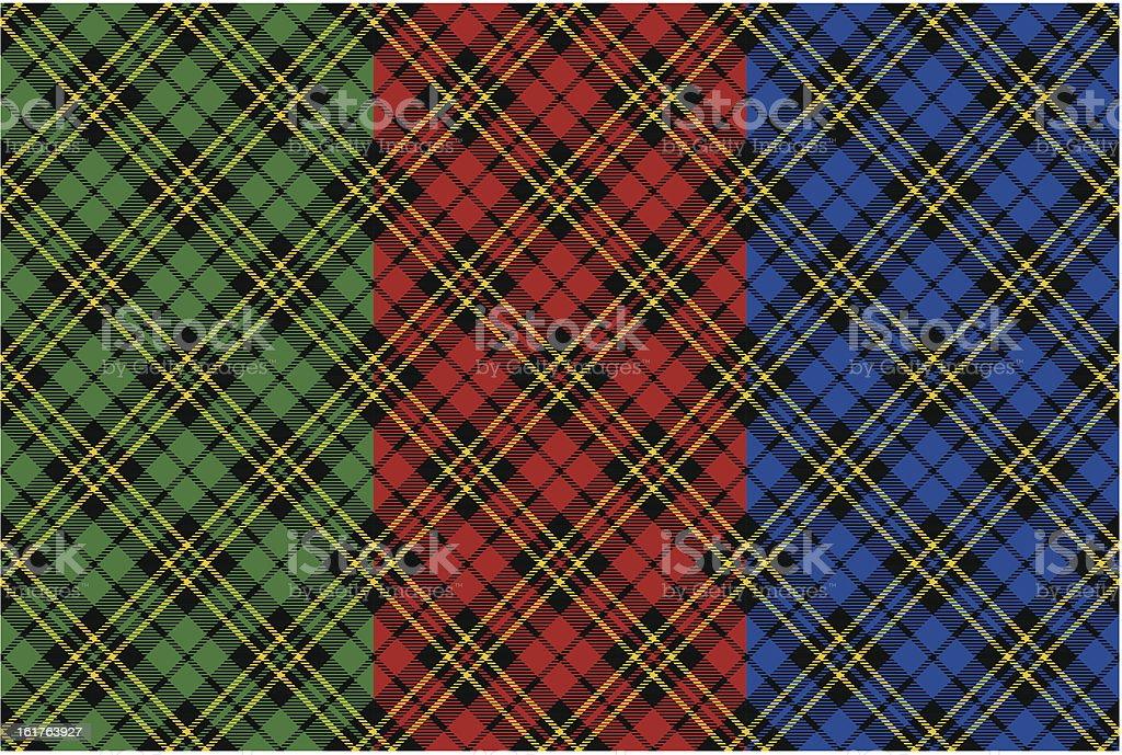 Seamless tartan patterns royalty-free stock vector art
