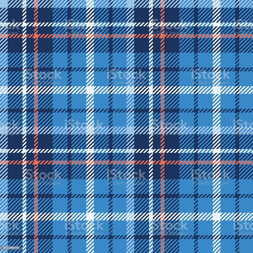 Seamless tartan vector pattern vector art illustration