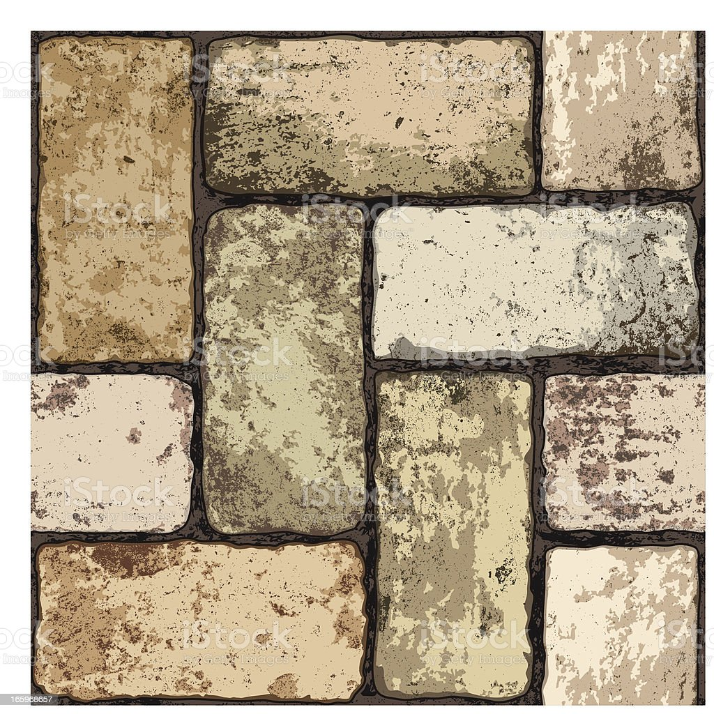 seamless terracotta floor royalty-free stock vector art
