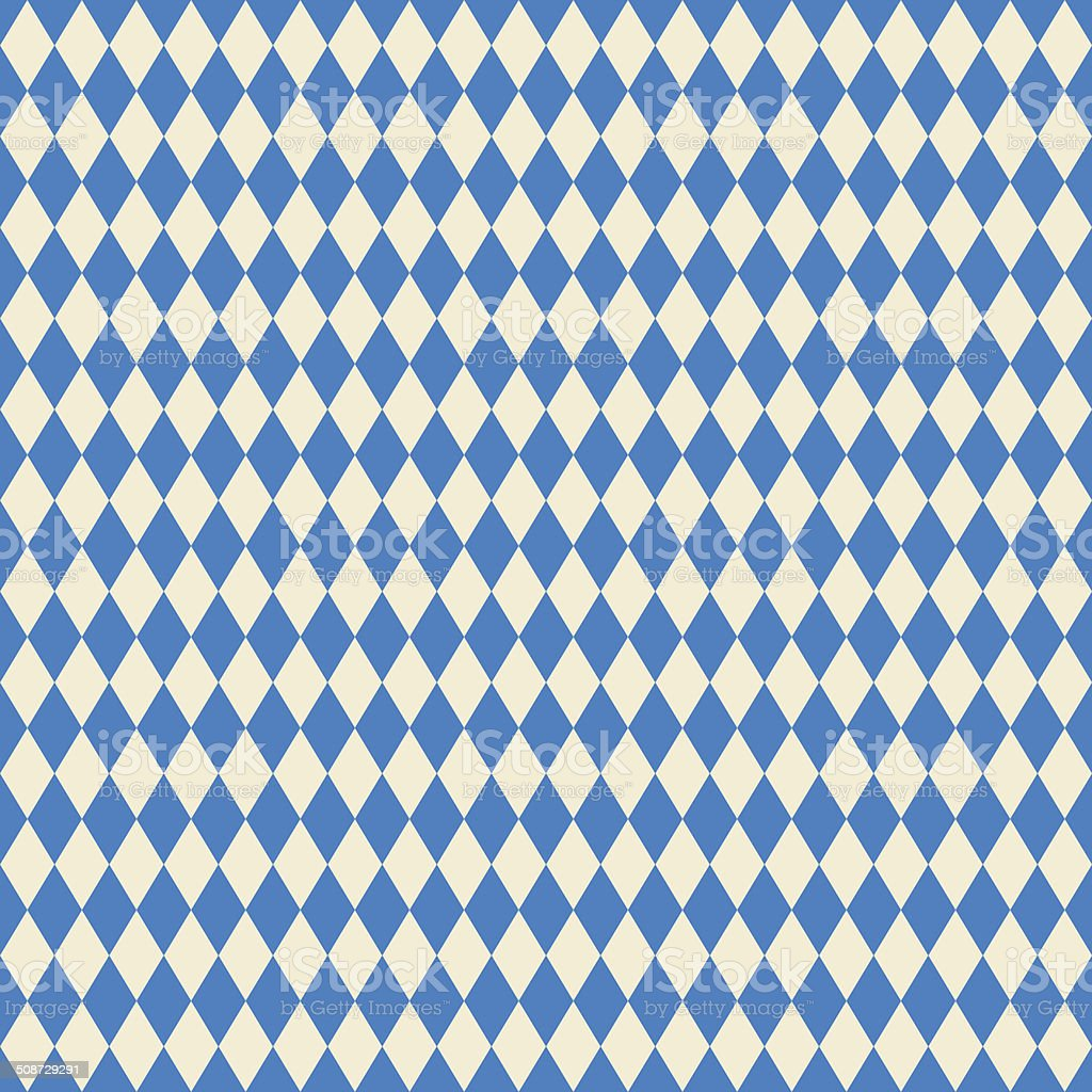 seamless texture bavarian flag vector art illustration