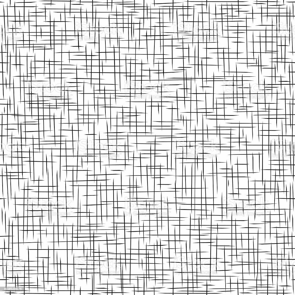 Seamless texture of twill vector art illustration