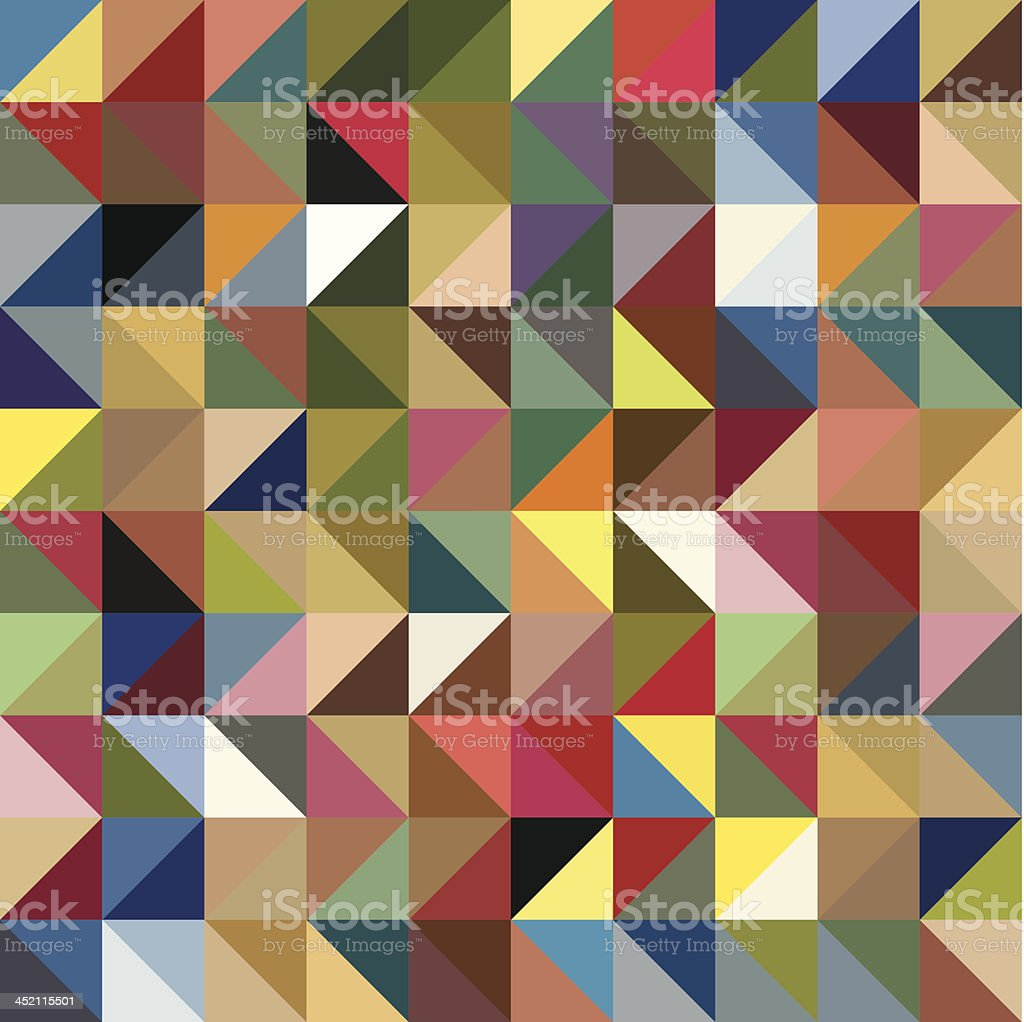 Seamless texture patchwork royalty-free stock vector art
