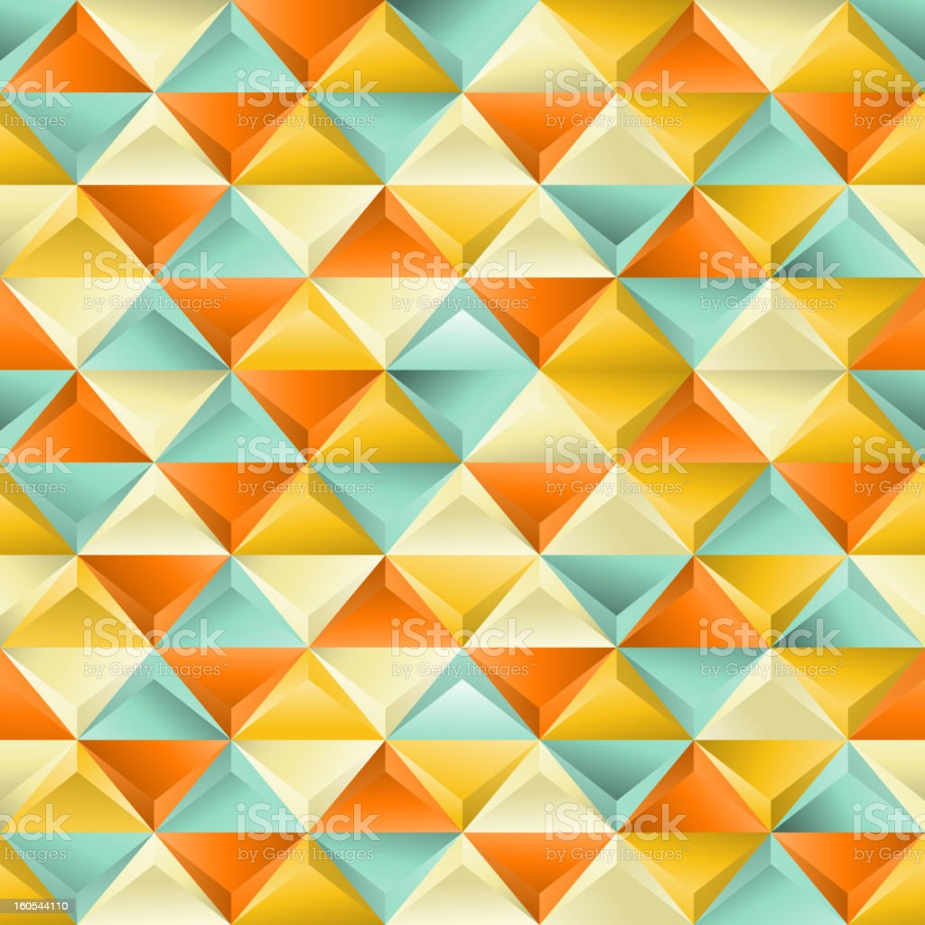Seamless texture with triangles. royalty-free stock photo