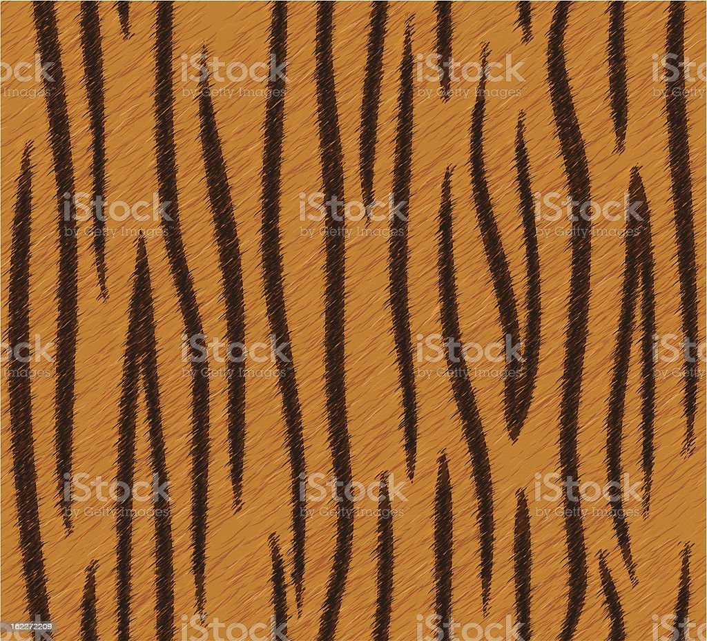 Seamless tiger skin pattern royalty-free stock vector art