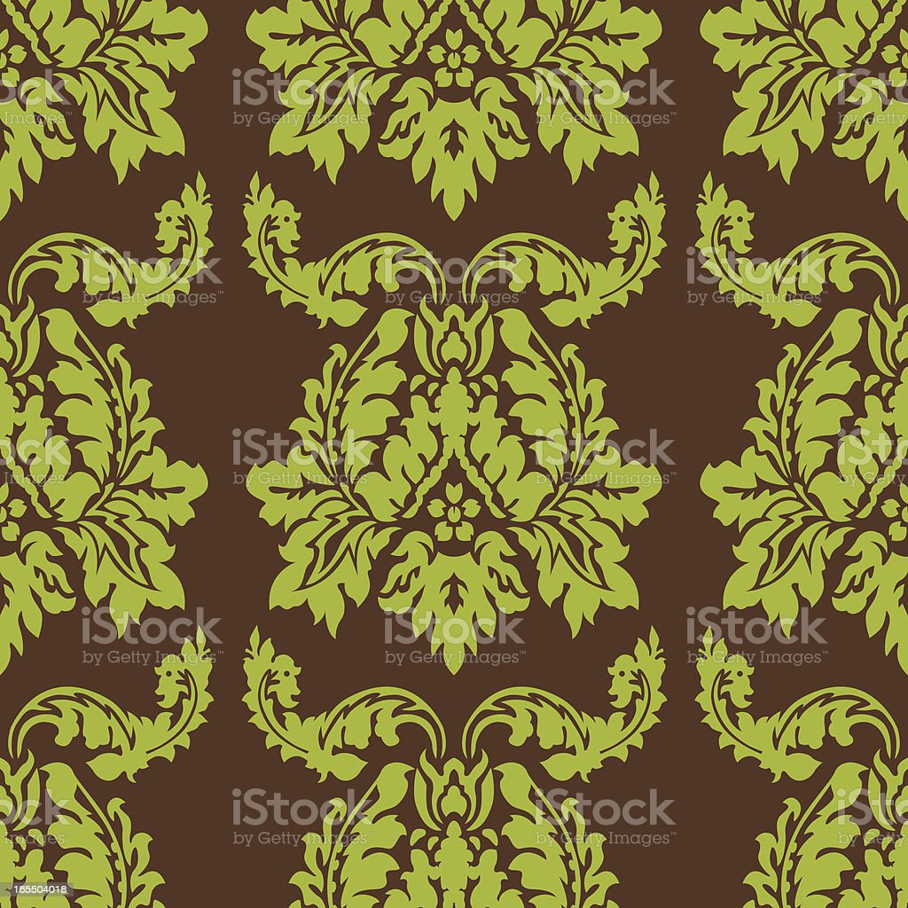 Seamless Tiled Wallpaper royalty-free stock vector art