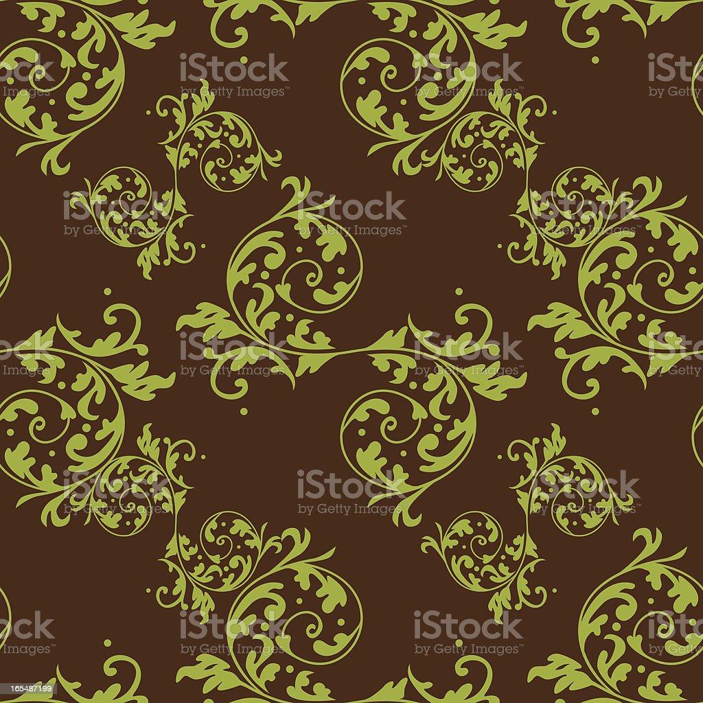 Seamless Tiled Wallpaper XI royalty-free stock vector art