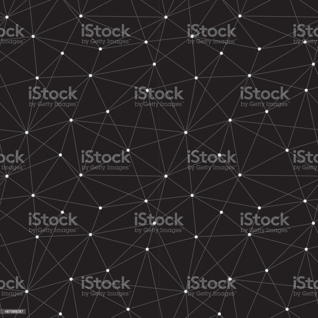 Seamless triangle background vector art illustration