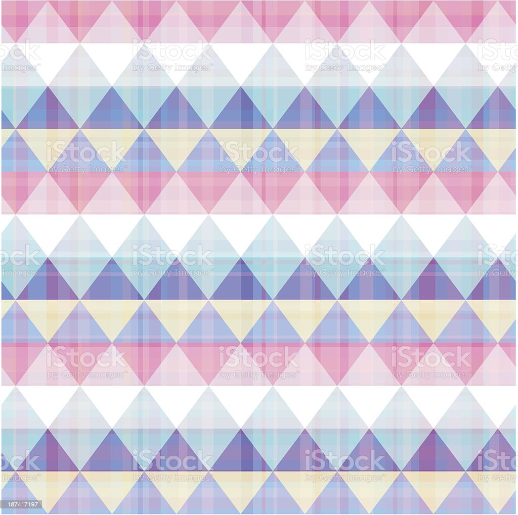 seamless triangle pattern texture royalty-free stock vector art