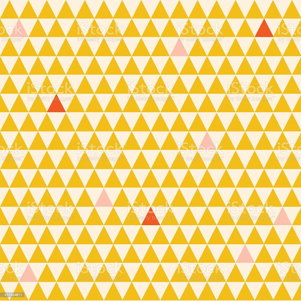 Seamless Triangle Pattern royalty-free stock vector art