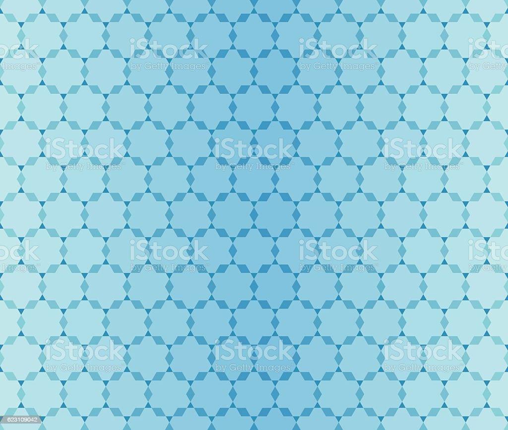 Seamless Turquoise pattern vector art illustration