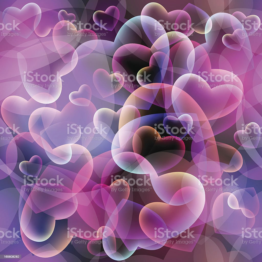Seamless Valentine's texture royalty-free stock vector art