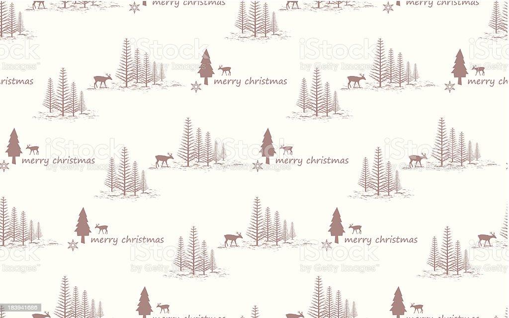 Seamless Vector Christmas Background royalty-free stock vector art