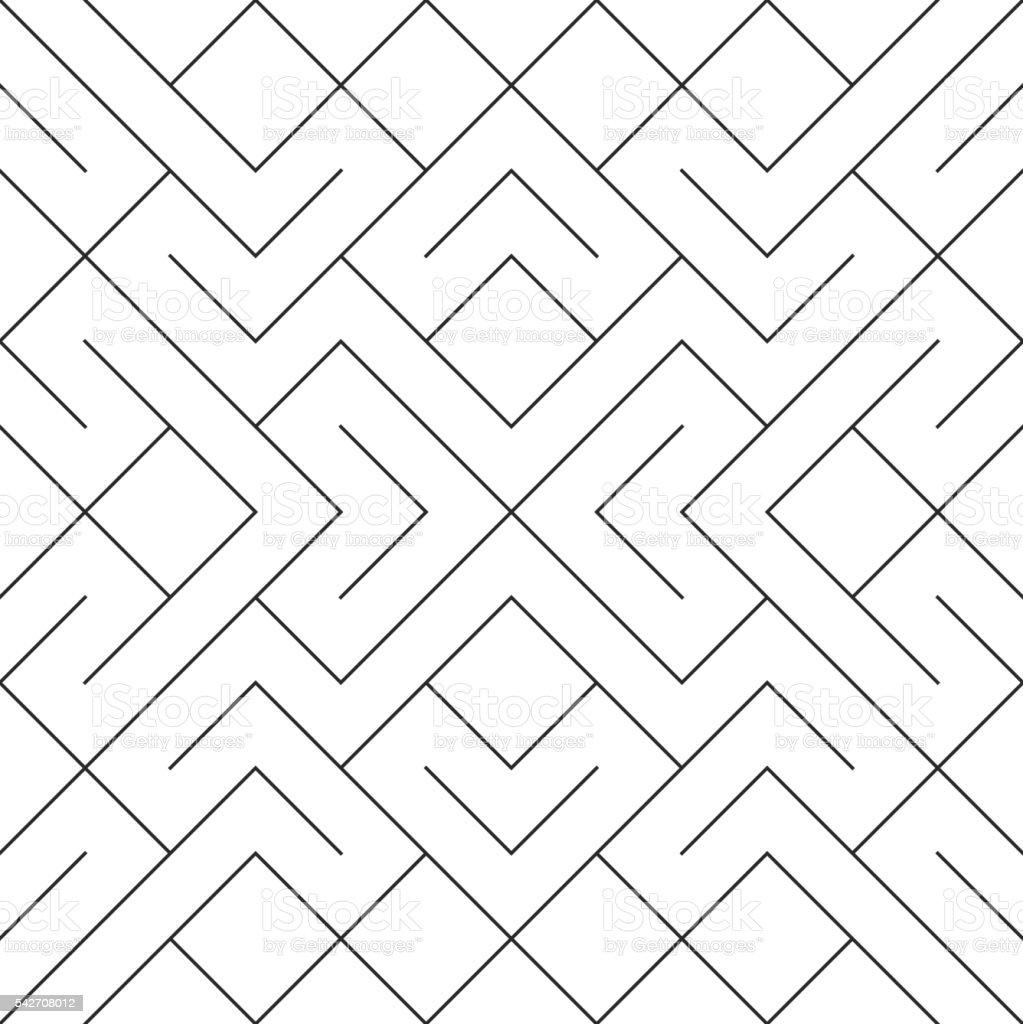 Seamless vector mesh lines pattern. vector art illustration