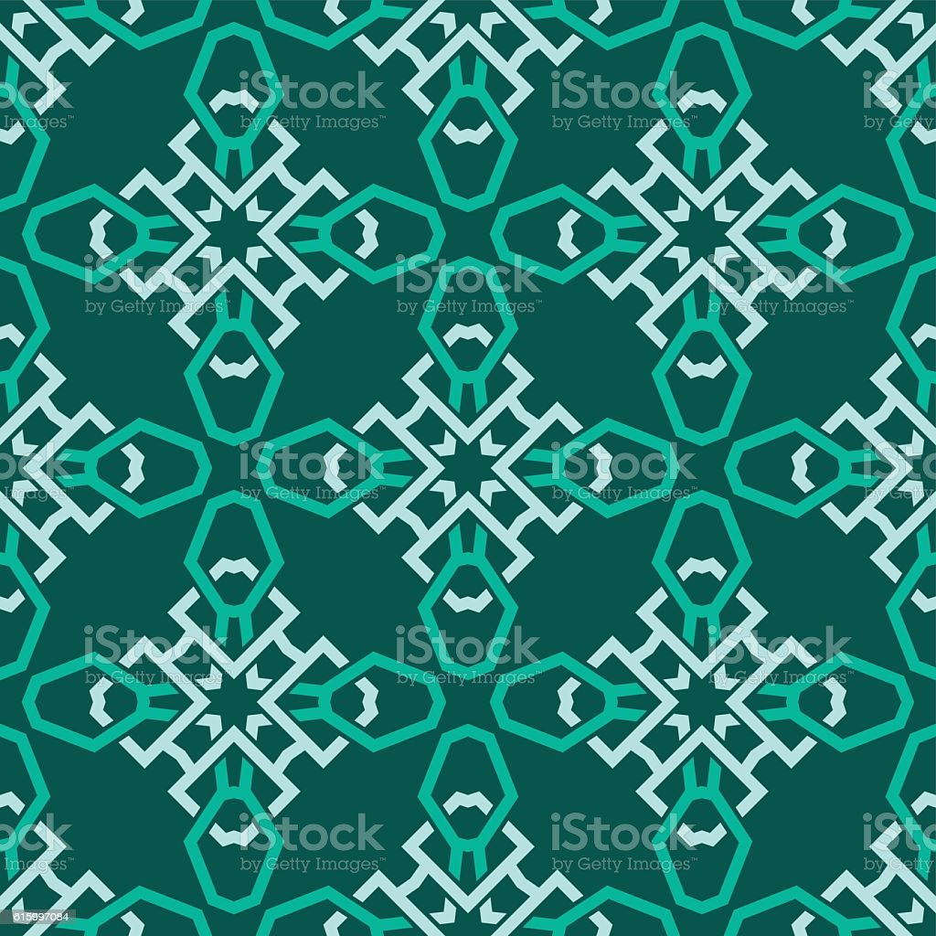 Seamless vector pattern design made in old vintage style vector art illustration