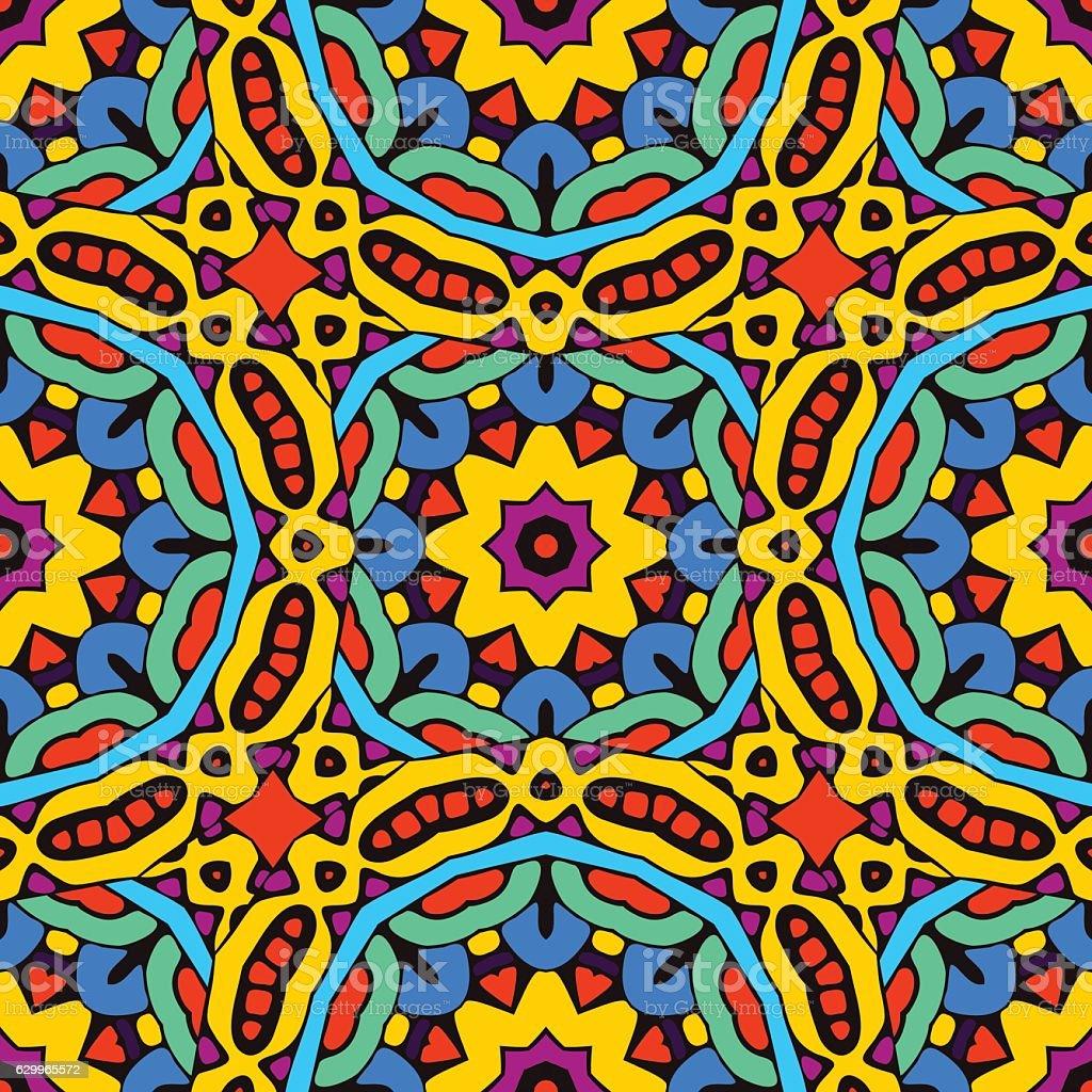 seamless vector pattern ornamental vector art illustration