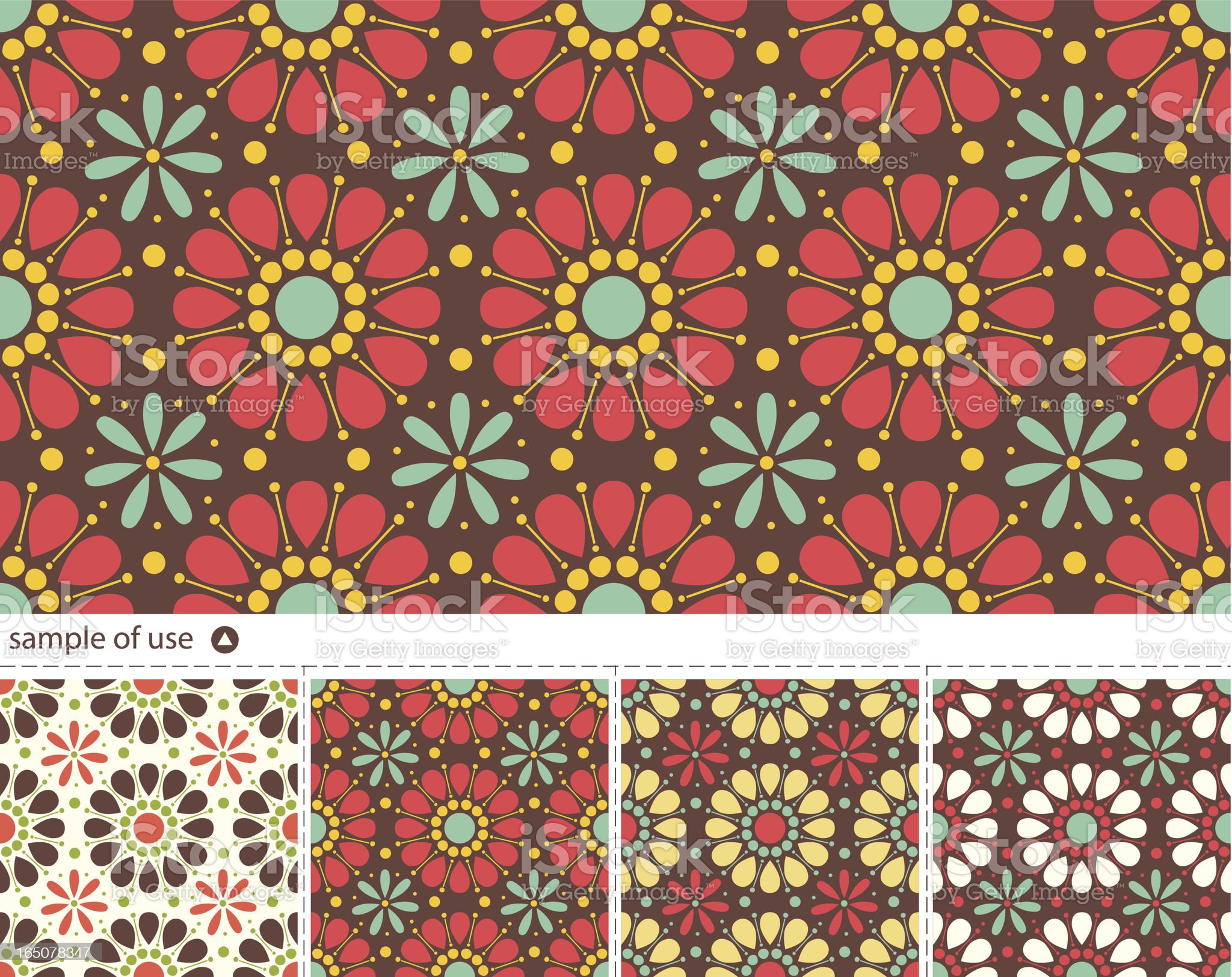 Seamless vector pattern royalty-free stock vector art