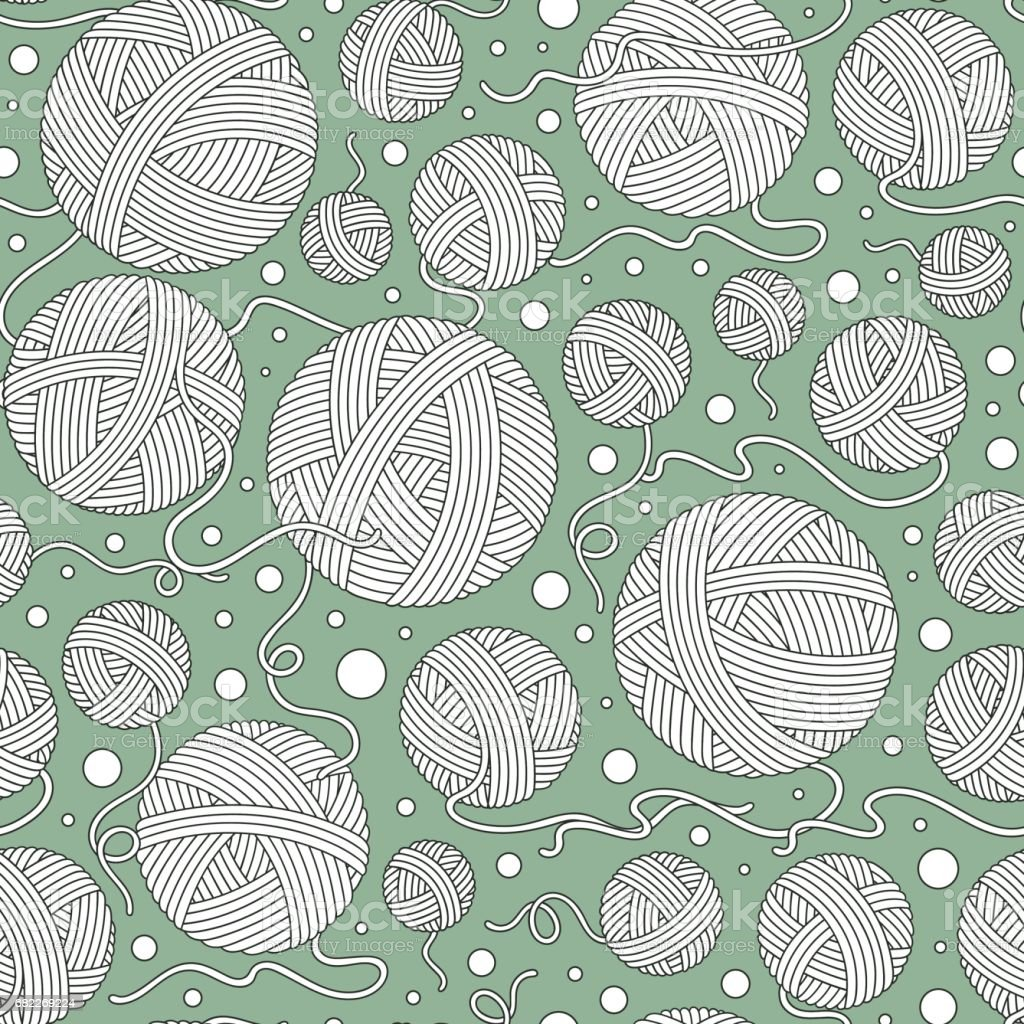Seamless vector pattern. vector art illustration