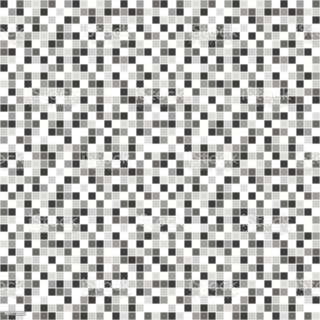 Checkered Design Seamless Vector Pattern With Squares Simple Checkered Graphic