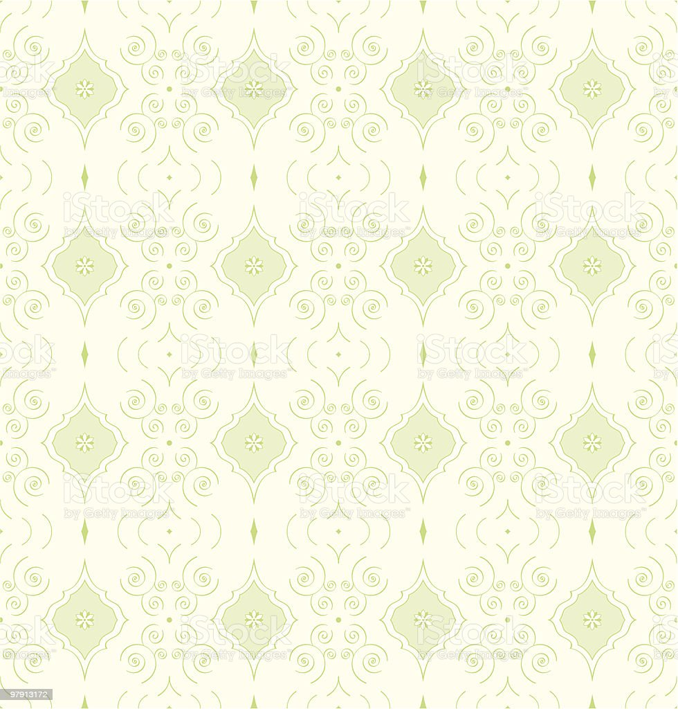 Seamless vector wallpaper or textile pattern royalty-free stock vector art