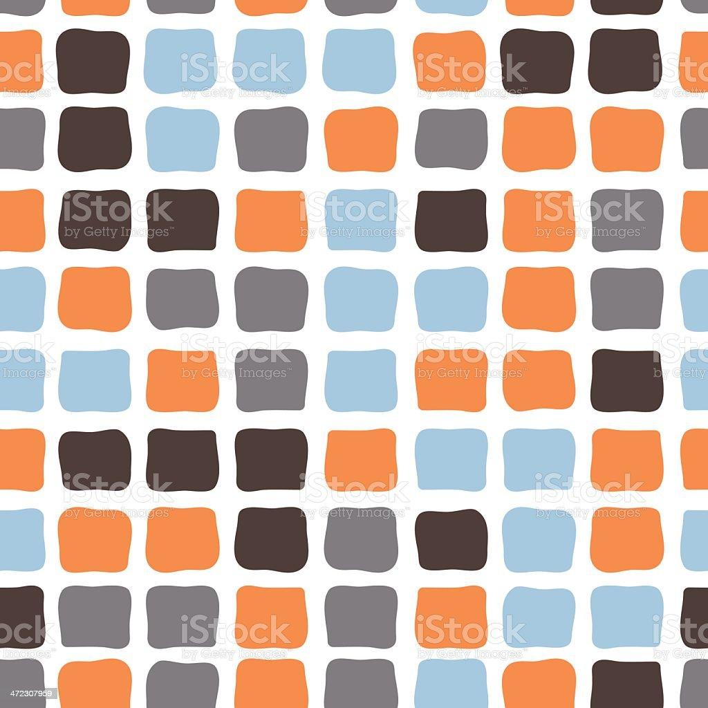Seamless vector wallpaper vector art illustration