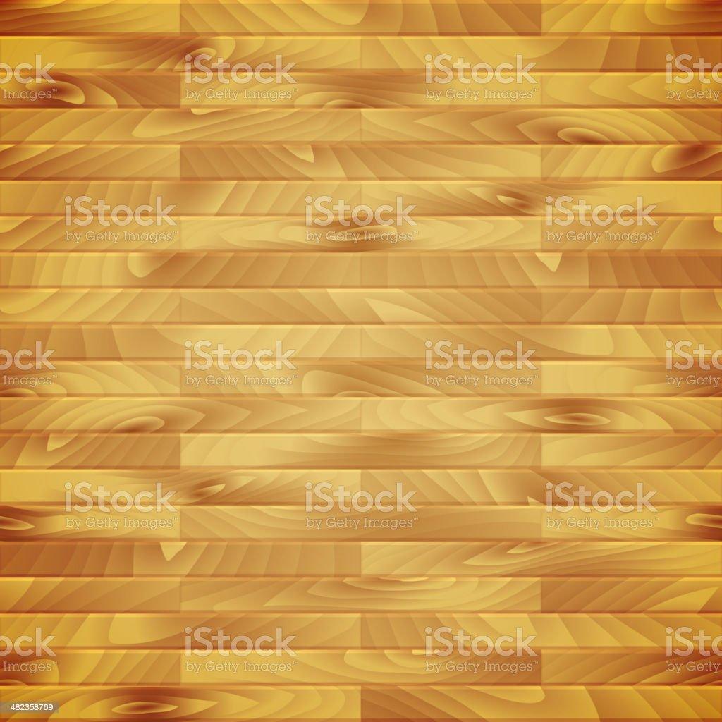Seamless vector wood plank vector art illustration