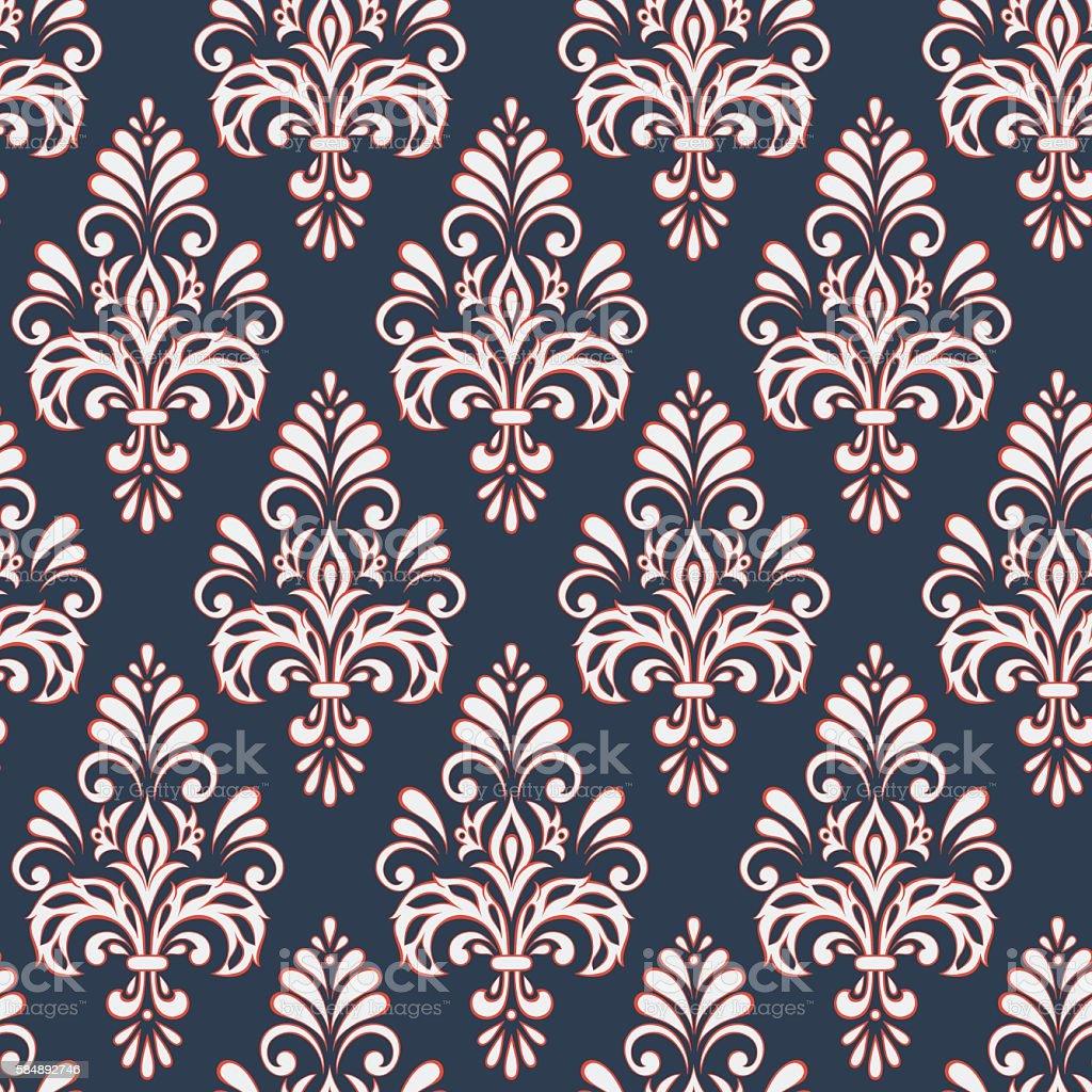 seda cuadrado decoracin decoracin diseo vendimia patrones sin fisuras de estilo barroco