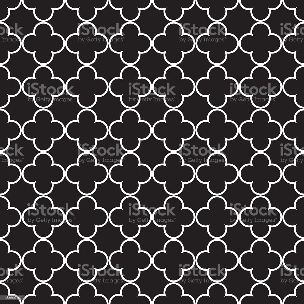 Seamless Vintage Geometric Pattern vector art illustration