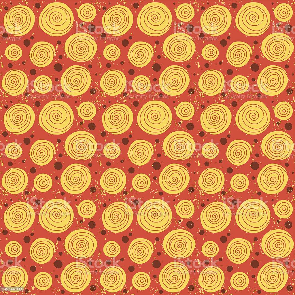 Seamless vintage pattern 1. Vector illustration. royalty-free stock vector art