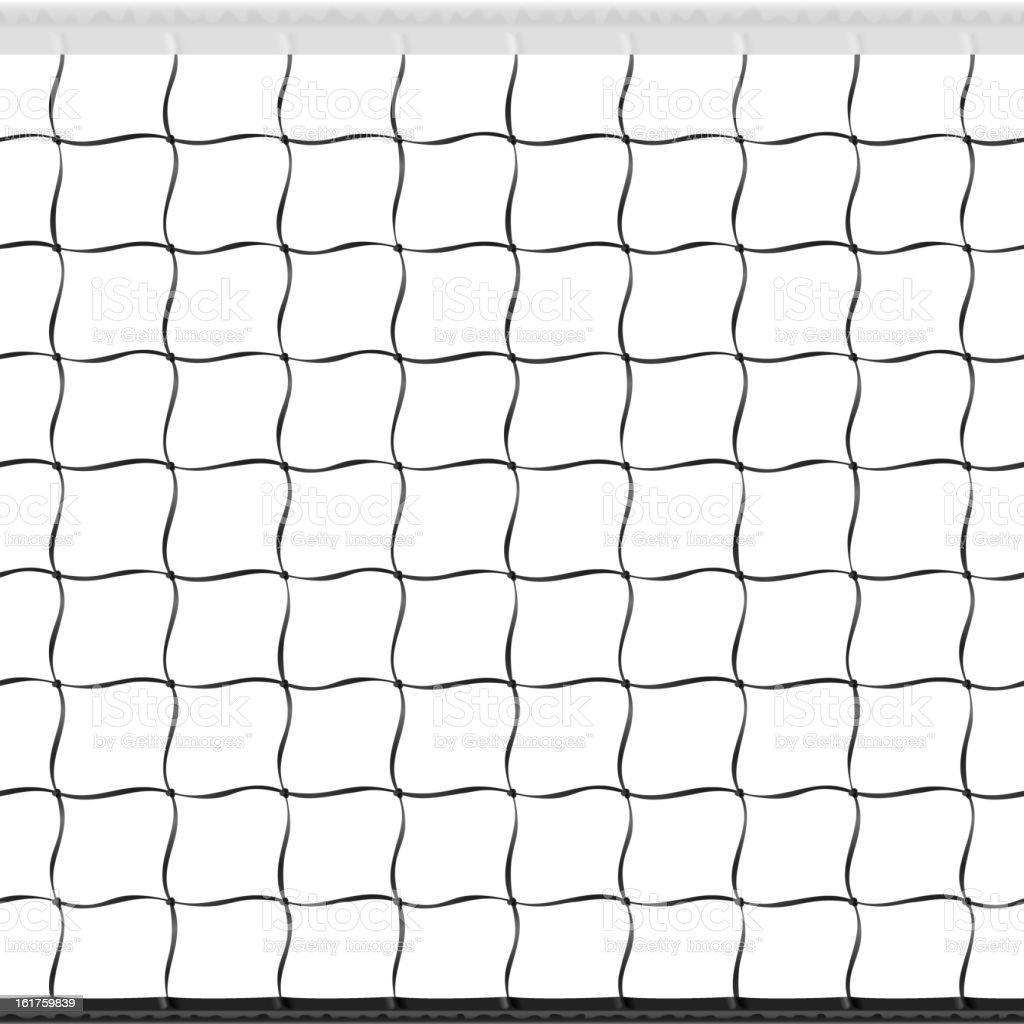 Seamless volleyball net royalty-free stock vector art