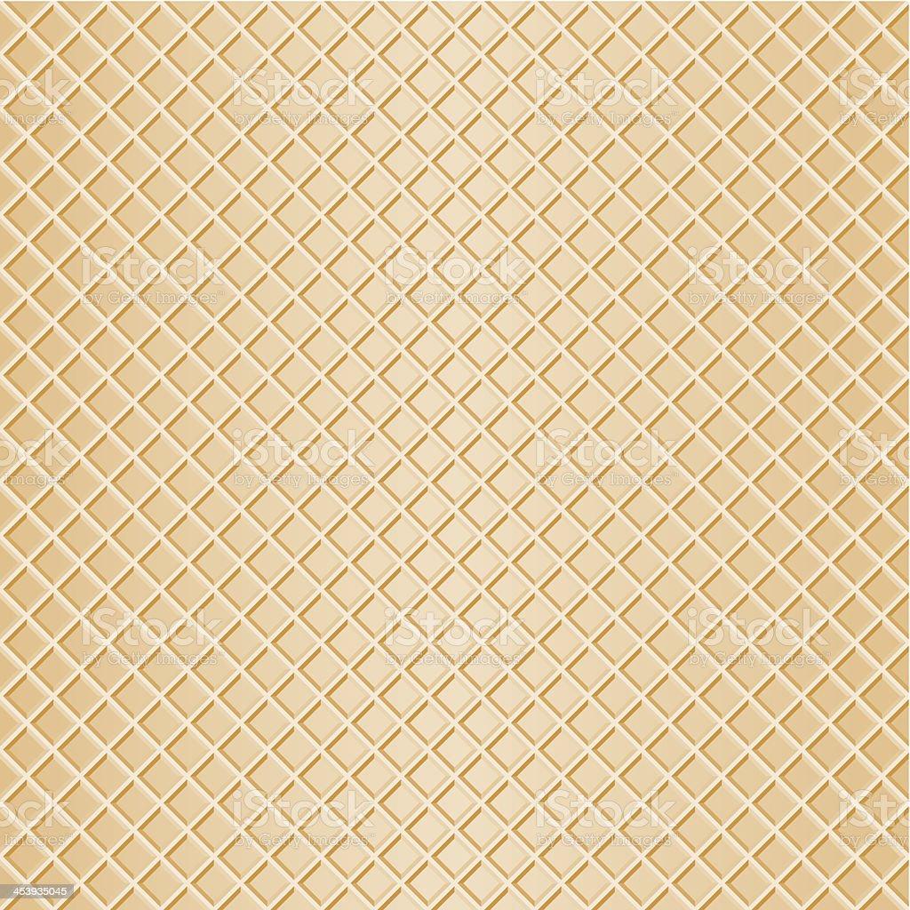 seamless waffle background vector art illustration