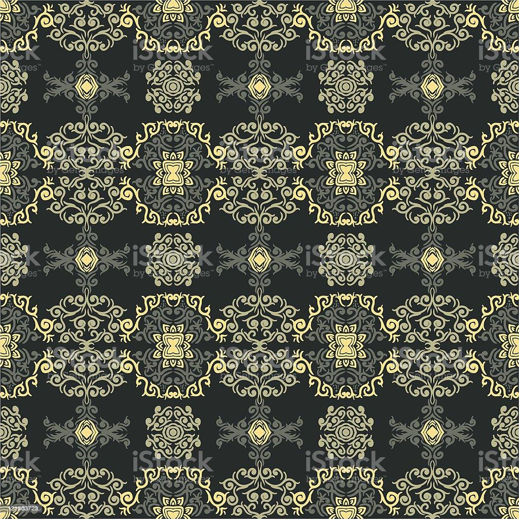 Seamless wallpaer royalty-free stock vector art
