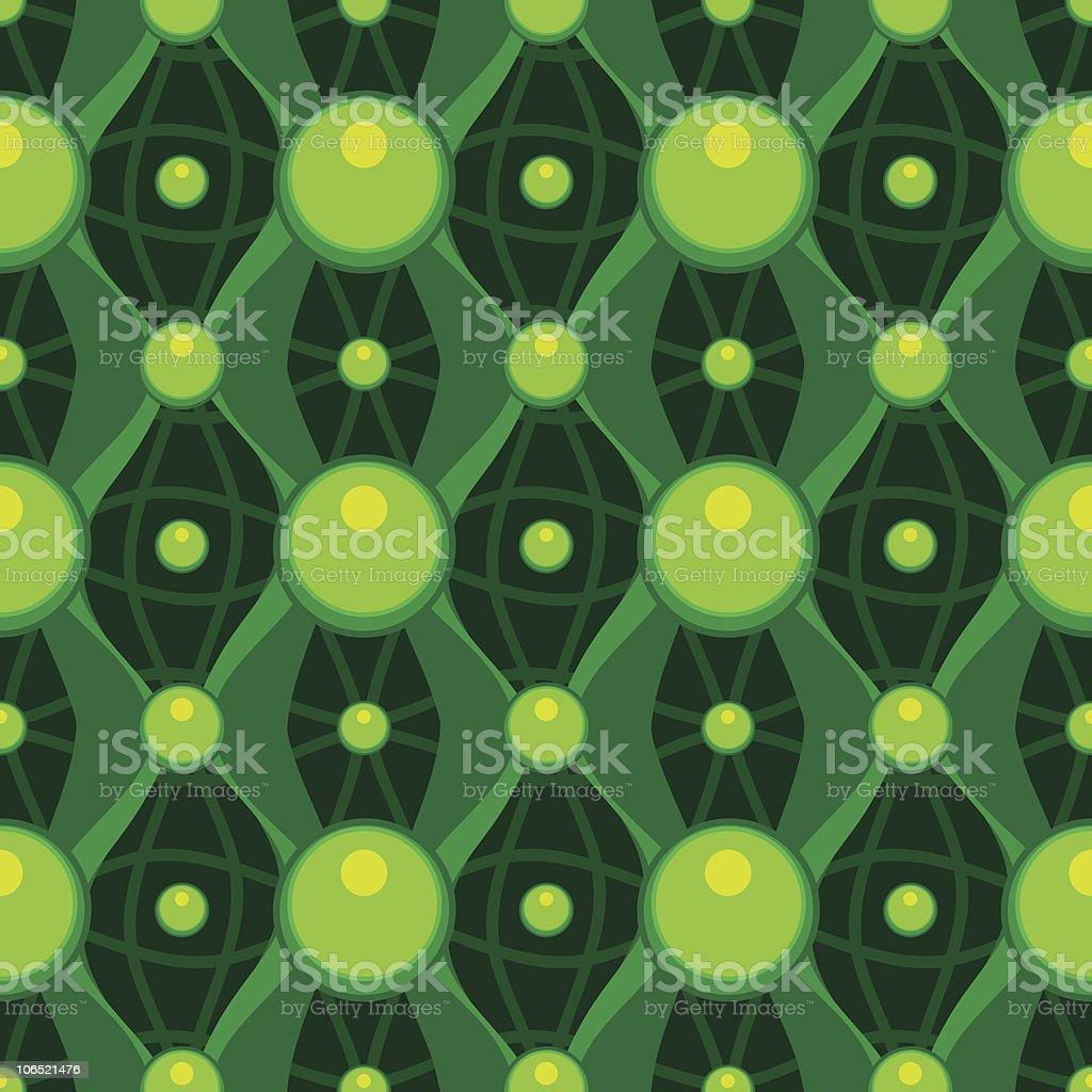 Seamless Wallpaper Background Tile royalty-free stock vector art