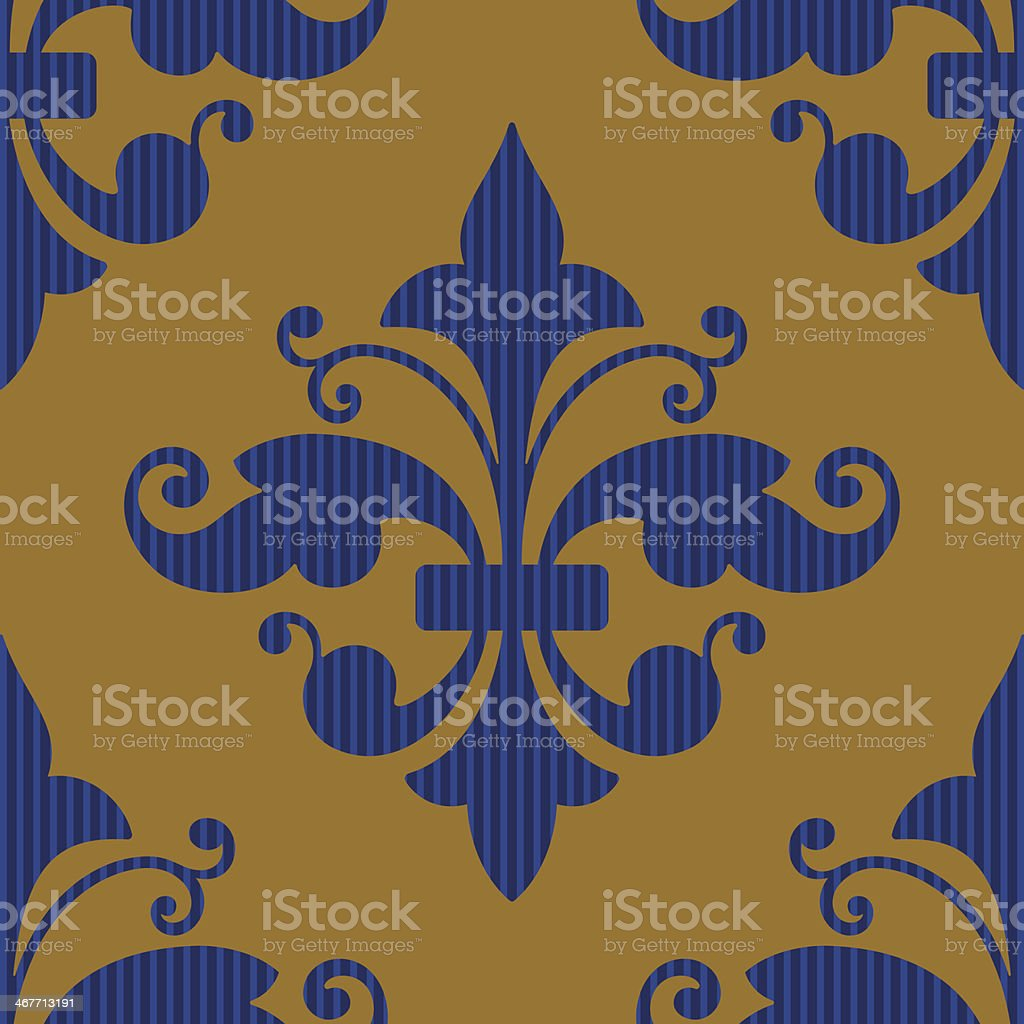Seamless Wallpaper Background royalty-free stock vector art