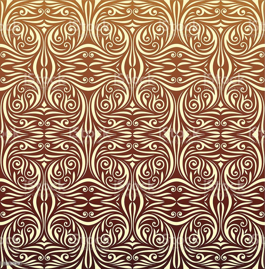 Seamless Wallpaper Pattern royalty-free stock vector art