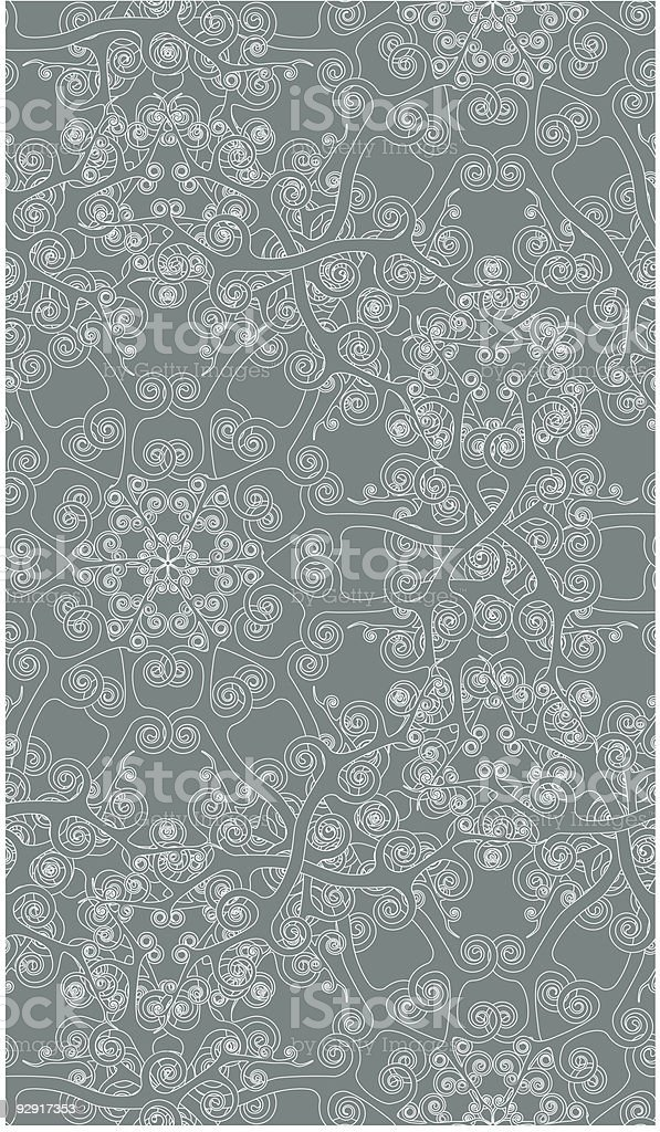 Seamless Wallpaper Tile Series (vector & jpeg) royalty-free stock vector art