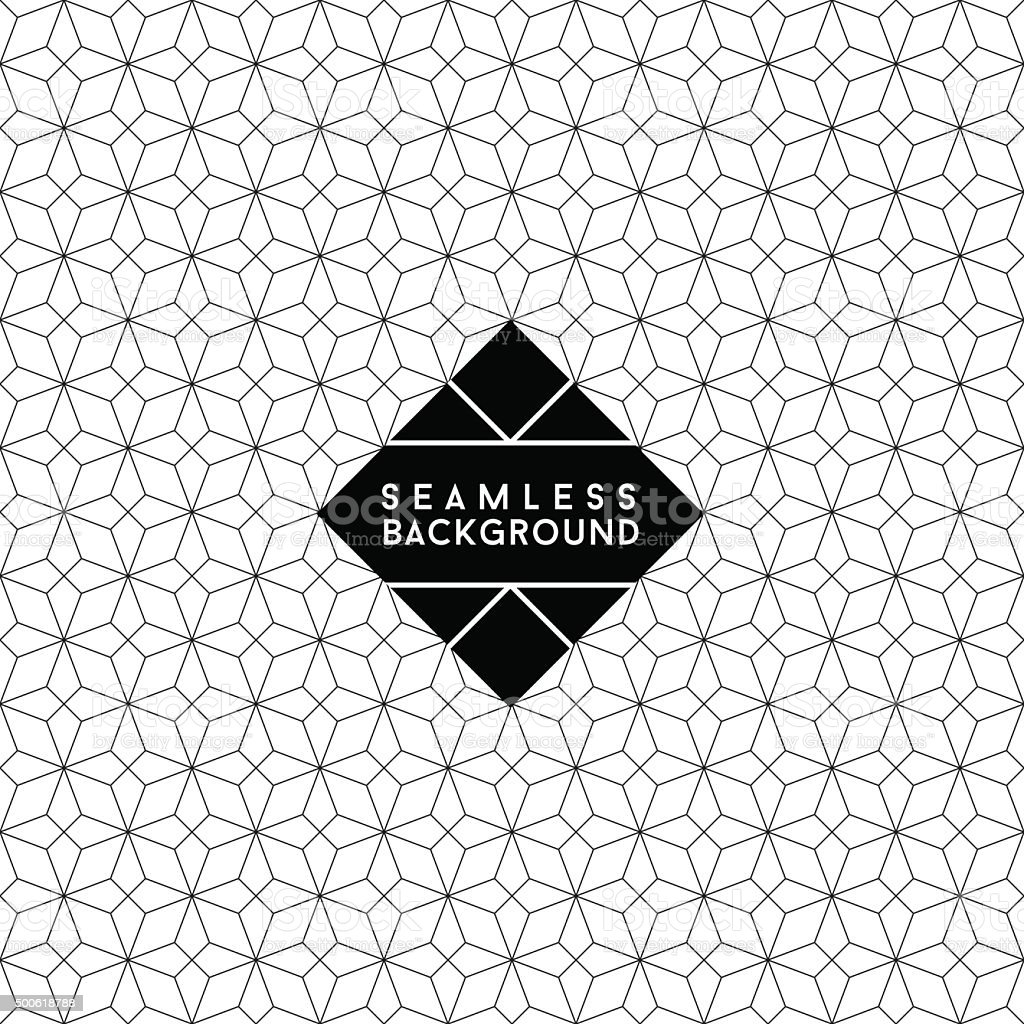 seamless  wallpaper vector art illustration