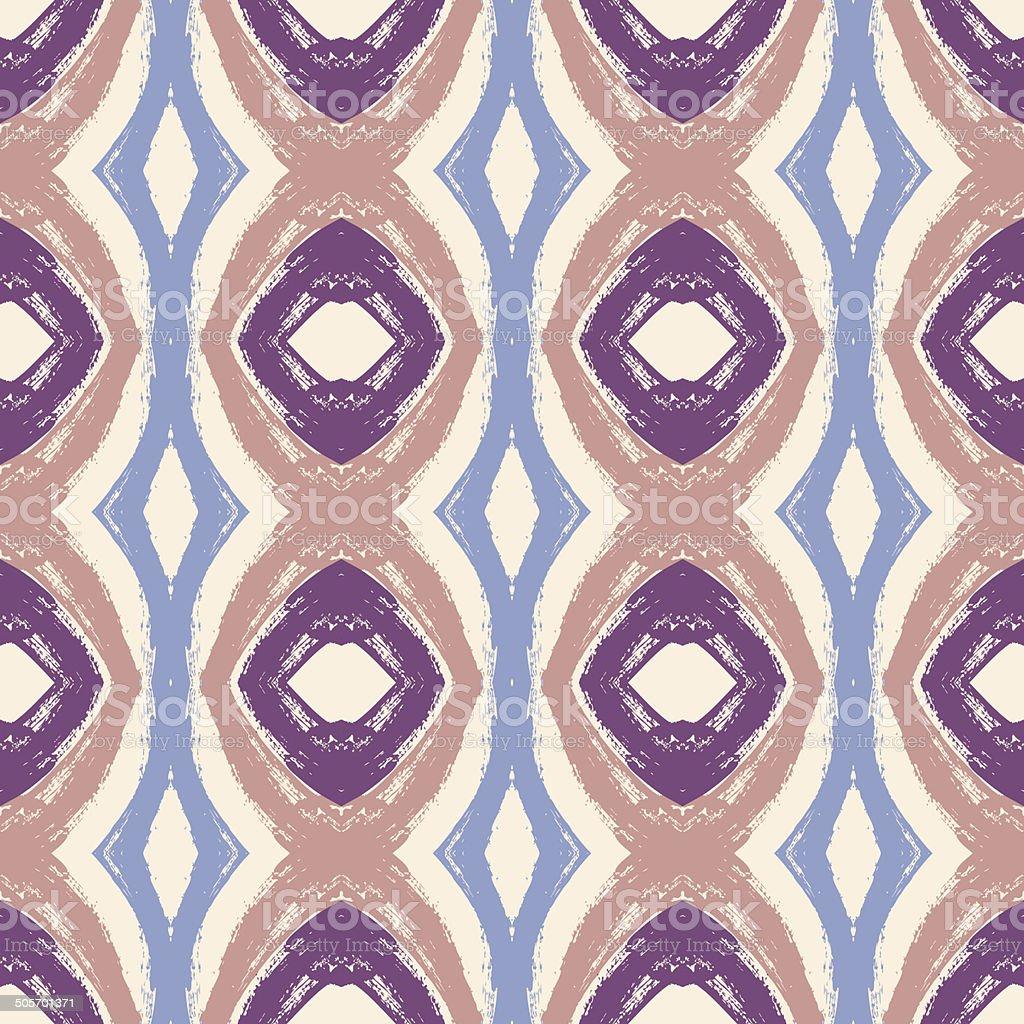 Seamless wavy pattern vector art illustration