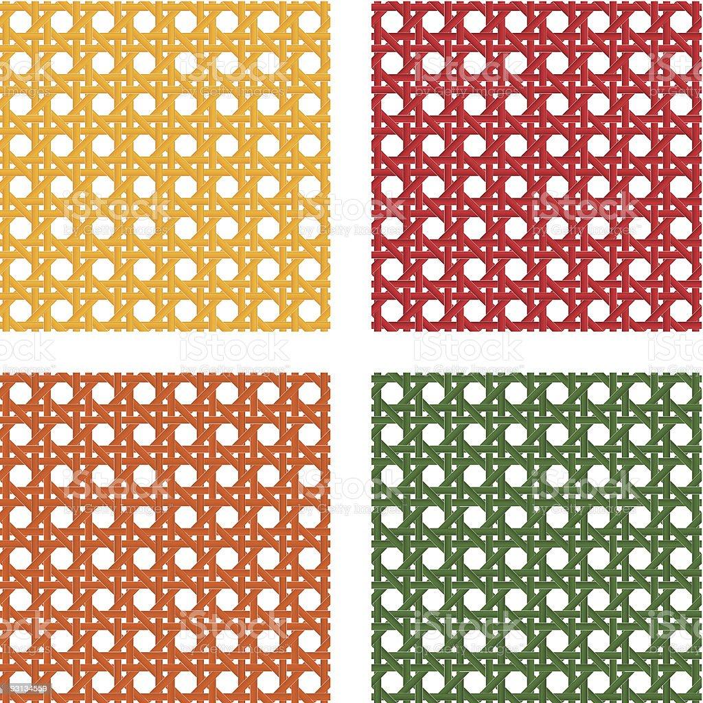 seamless wicker pattern royalty-free stock vector art