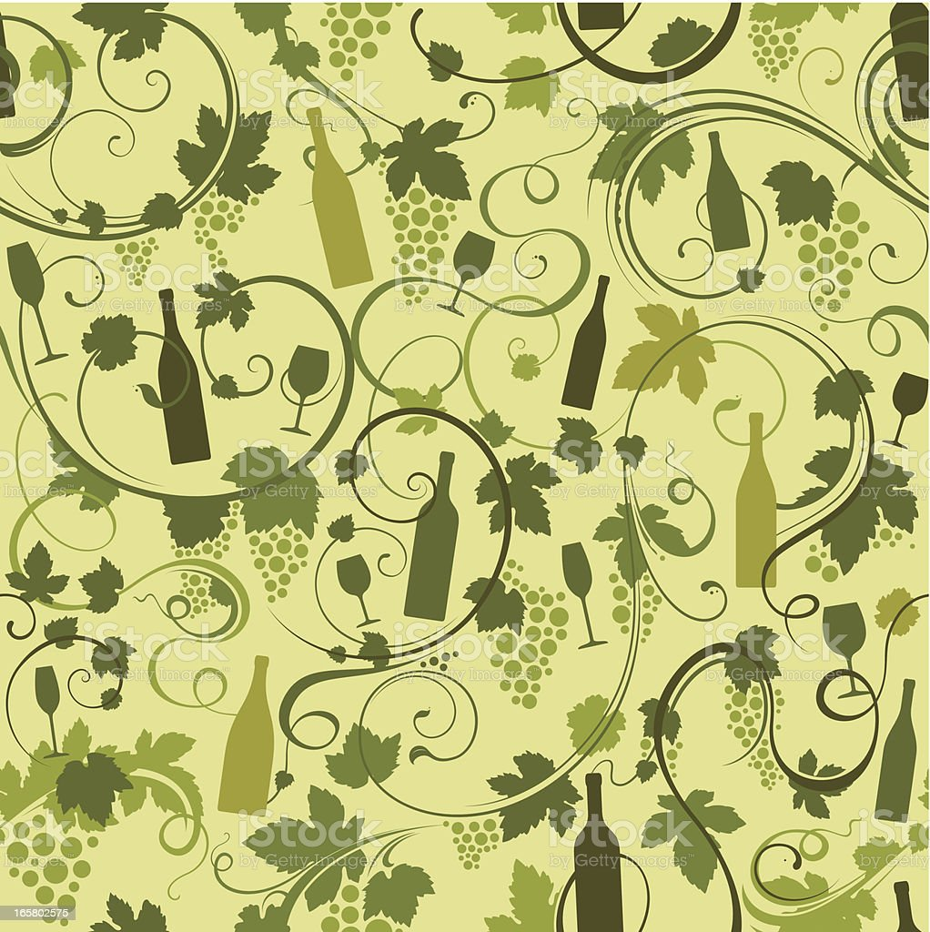 Seamless wine background royalty-free stock vector art