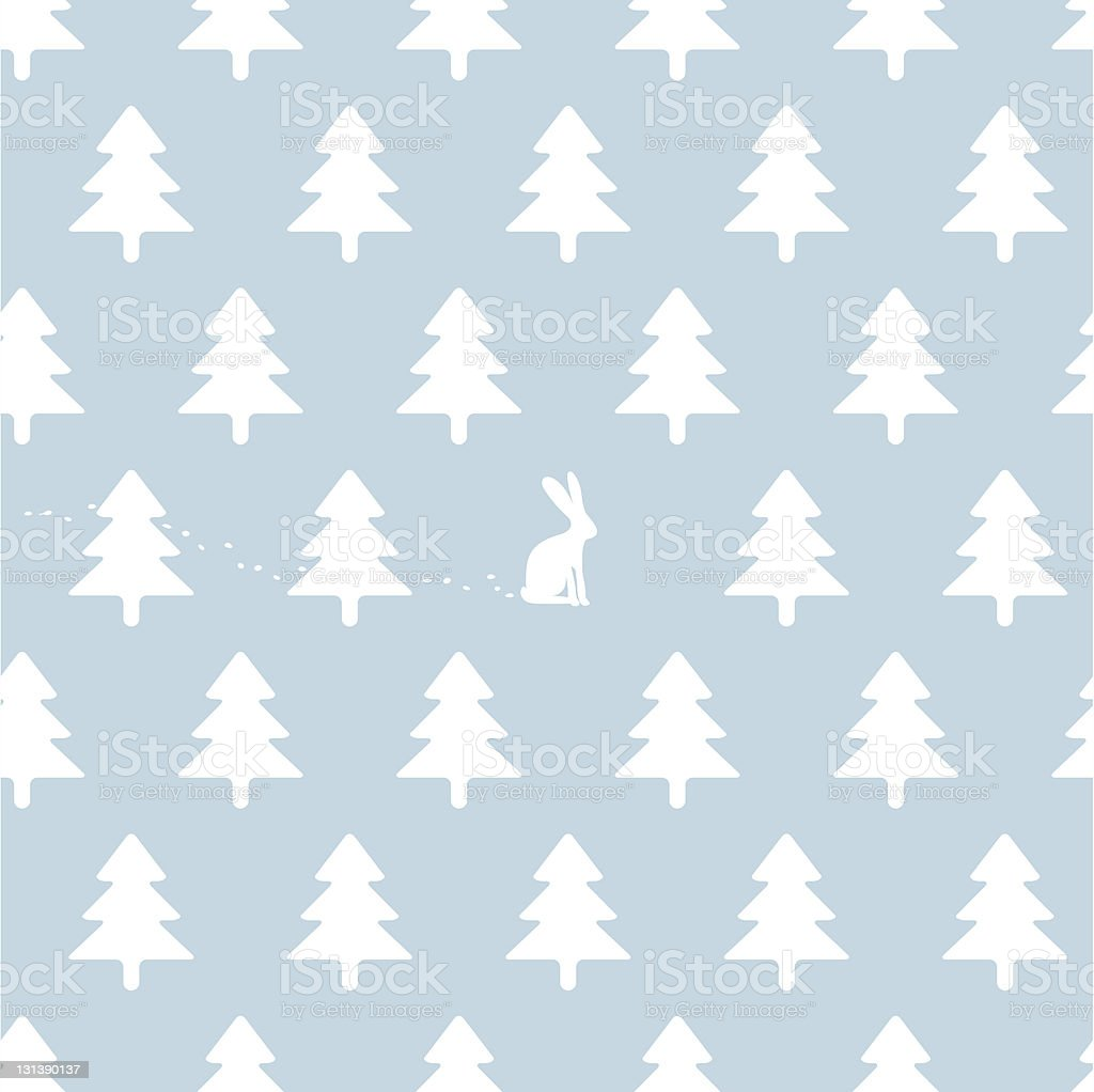 seamless winter background royalty-free stock vector art