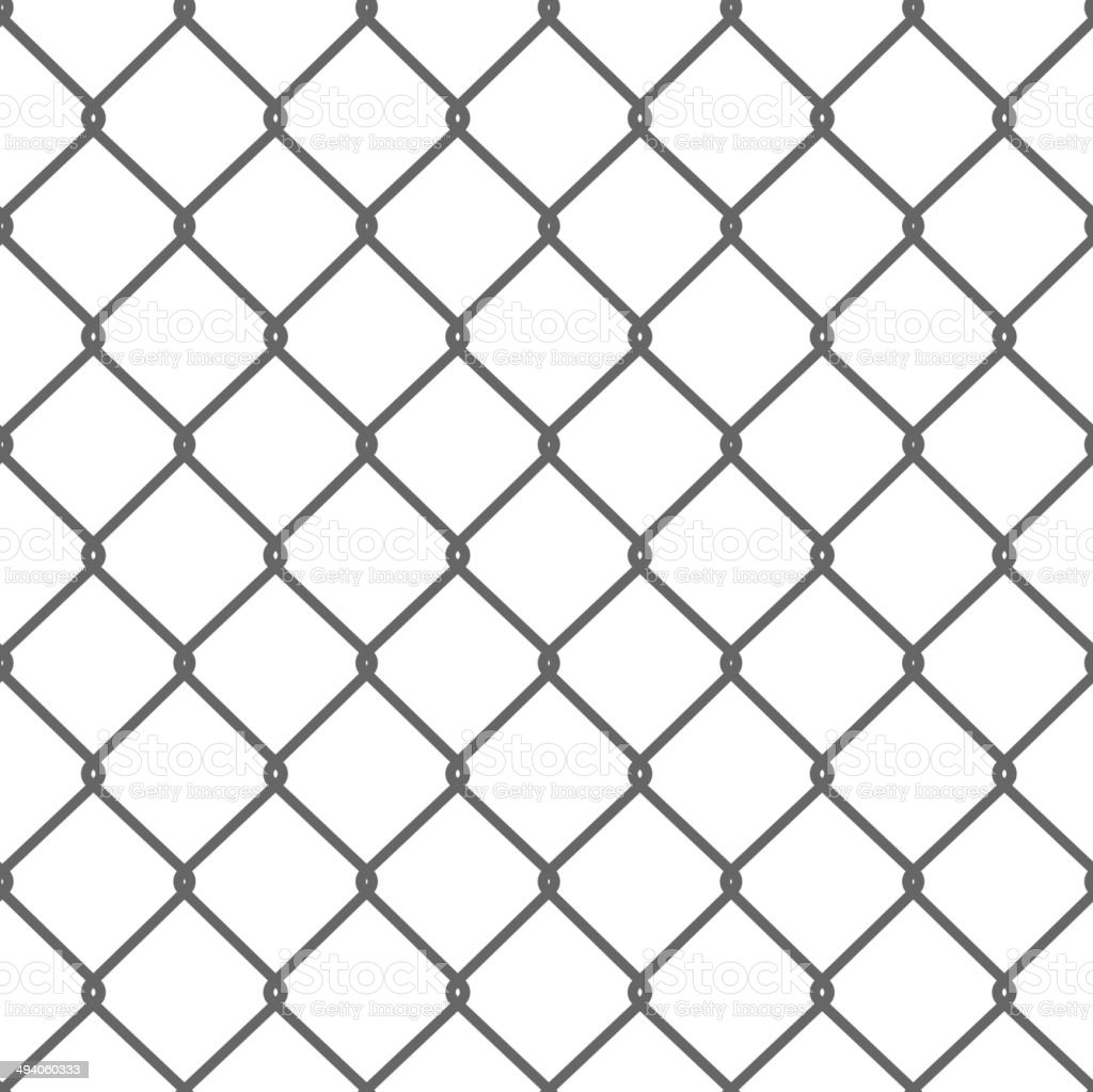Seamless Wire Mesh. Vector vector art illustration