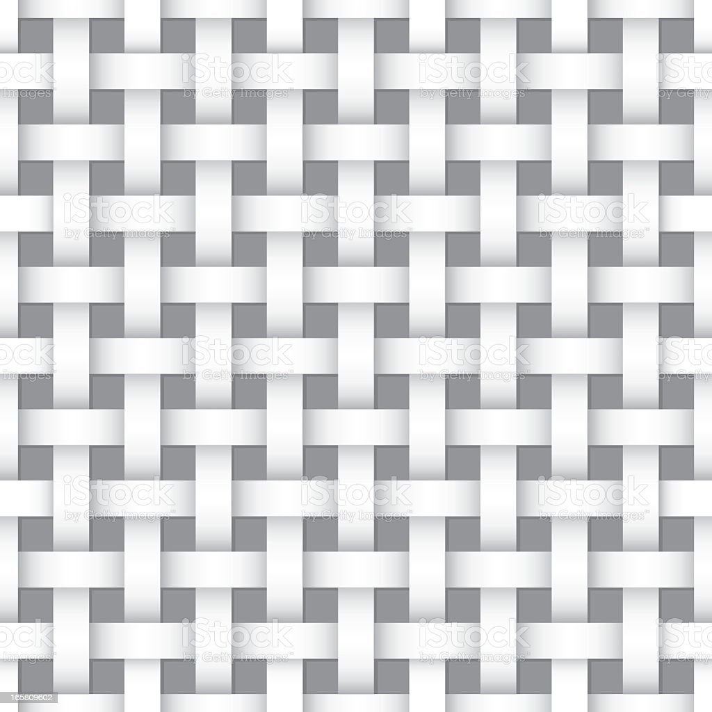 Seamless Woven Background royalty-free stock vector art