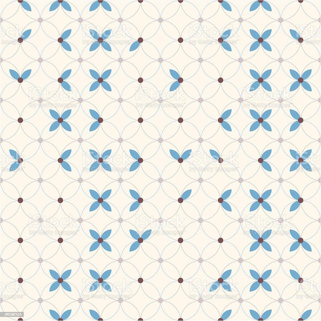 seamless_pattern_flower royalty-free stock vector art