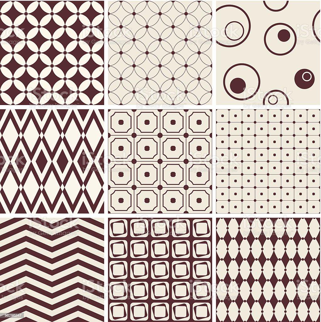 seamless-patterns royalty-free stock vector art