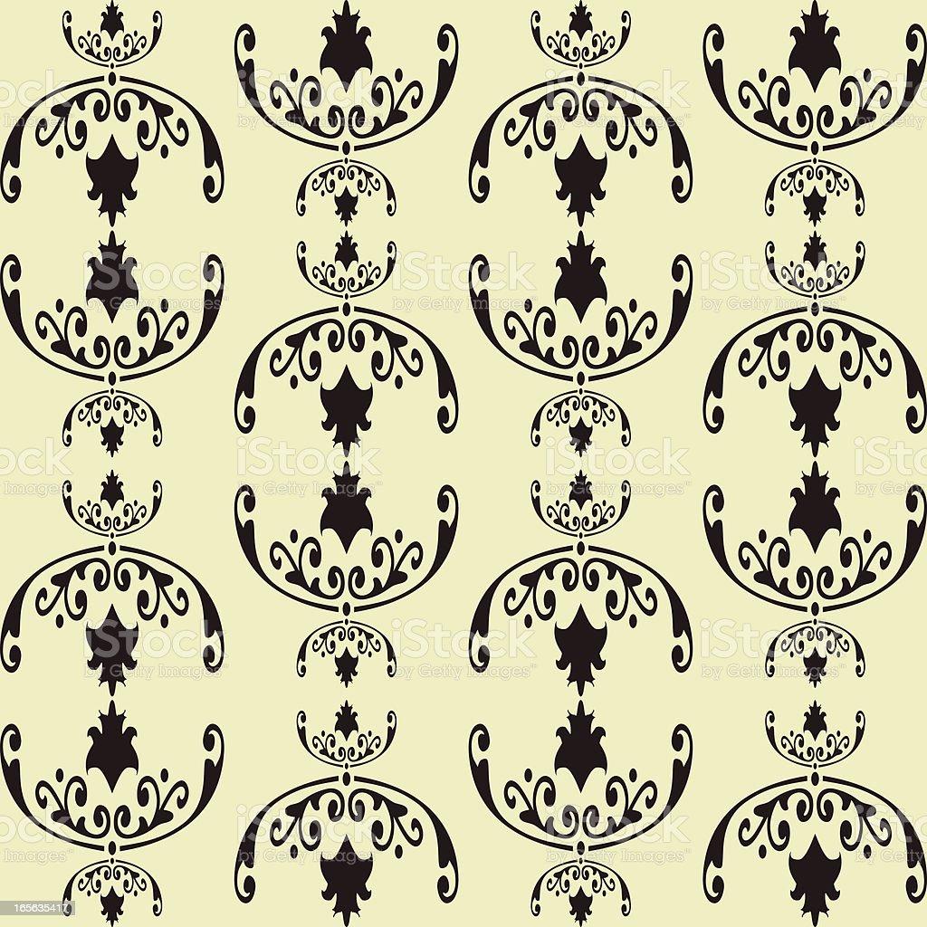 seampless  wallpaper vector art illustration