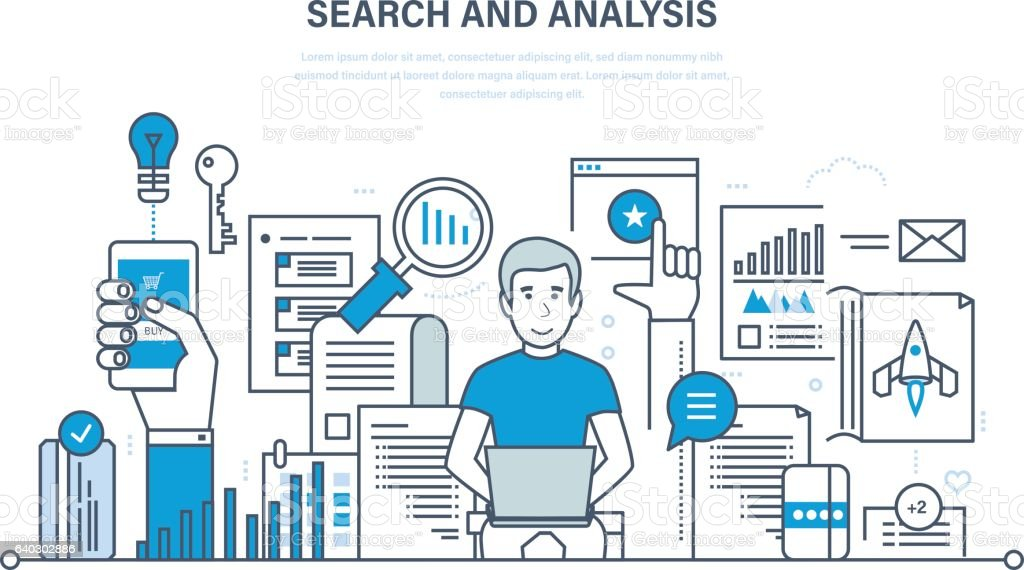 Search And Analysis Of Information Marketing Research Statistics