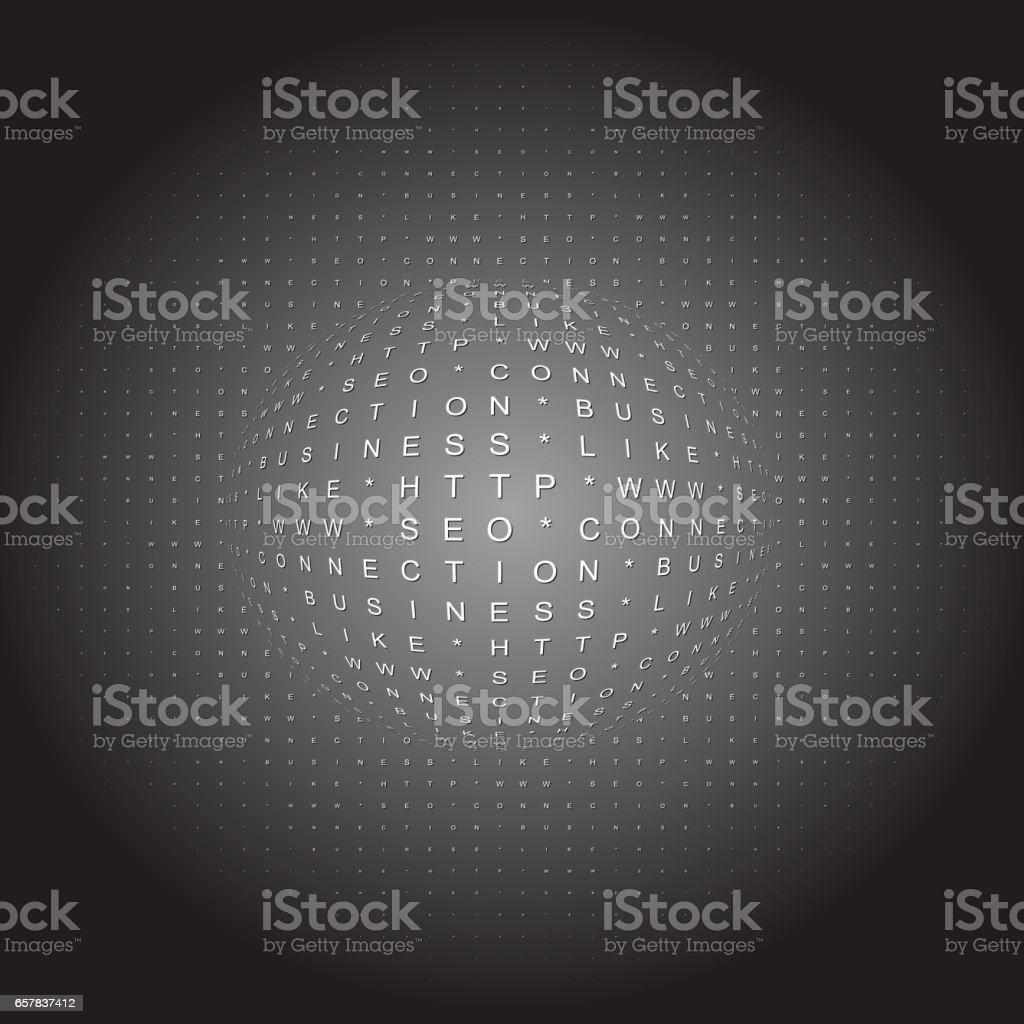 Search engine optimization conceptual vector art illustration
