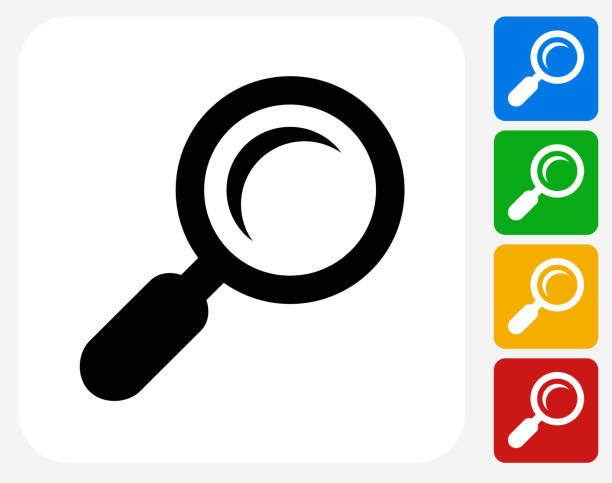 Magnifying Glass Clip Art, Vector Images & Illustrations